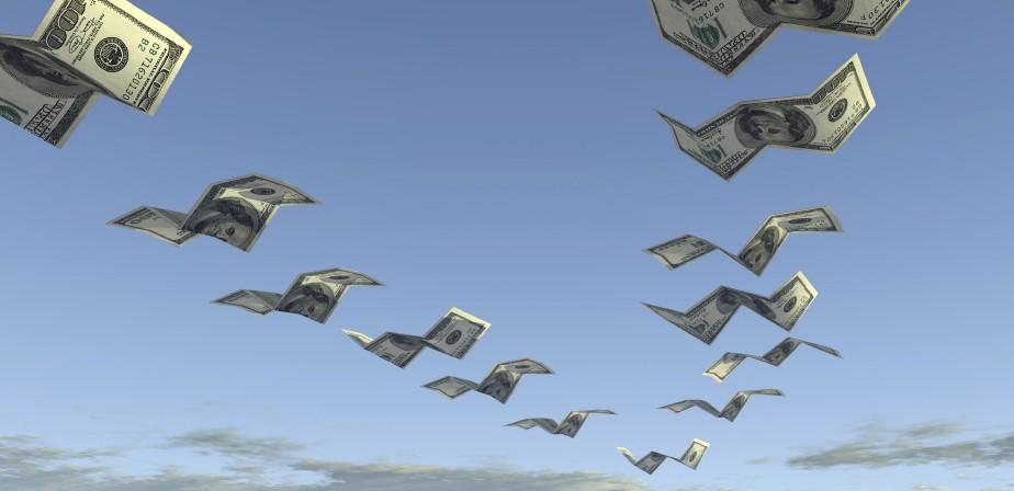 cash flying